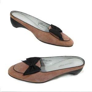 Etienne Aigner Womens Low Heel Slip On Shoe Bow
